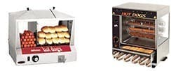 Hot Dog Steamer/Broiler