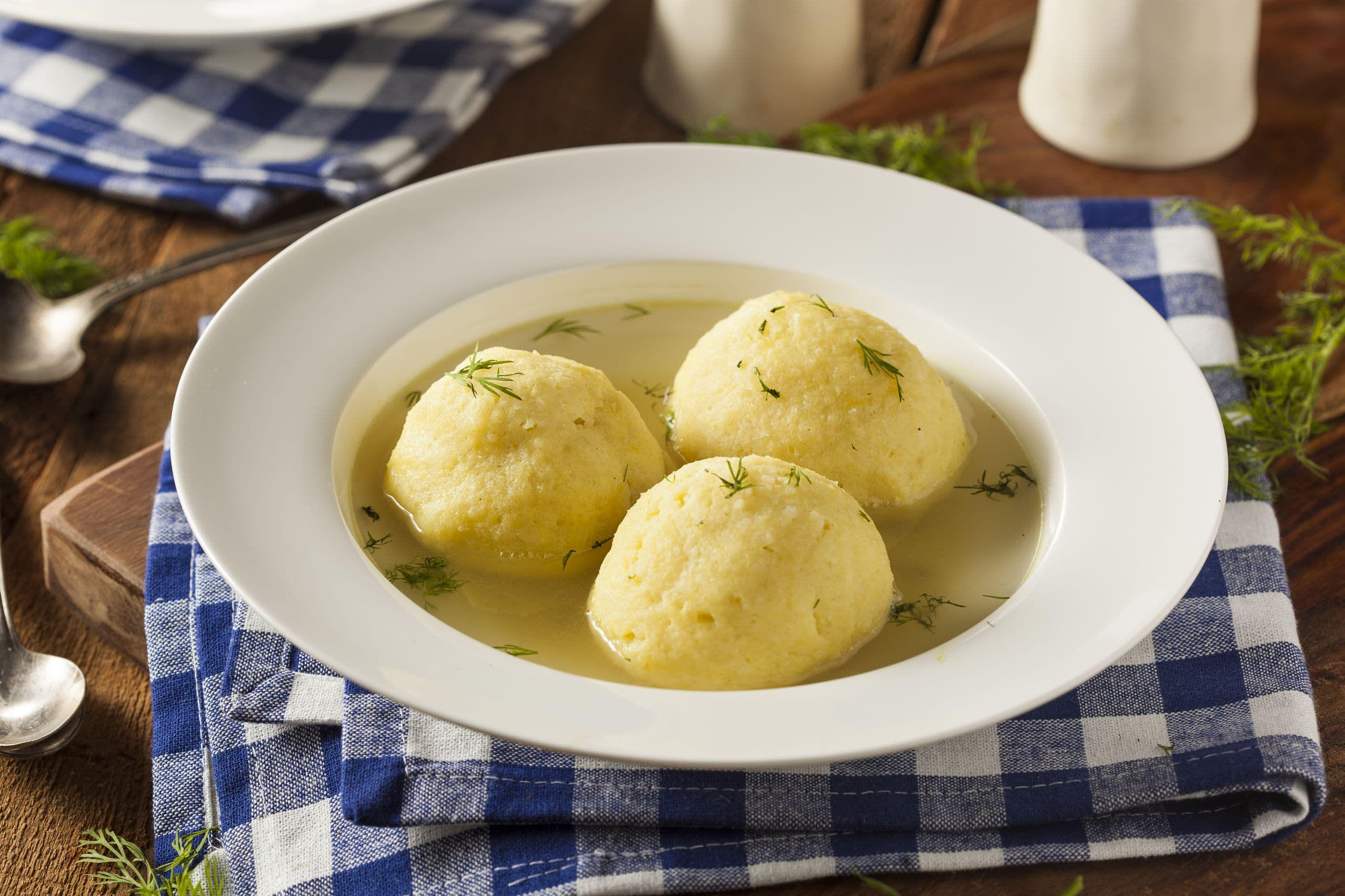 Celebrate Passover And Easter with Matzo-Ball Soup