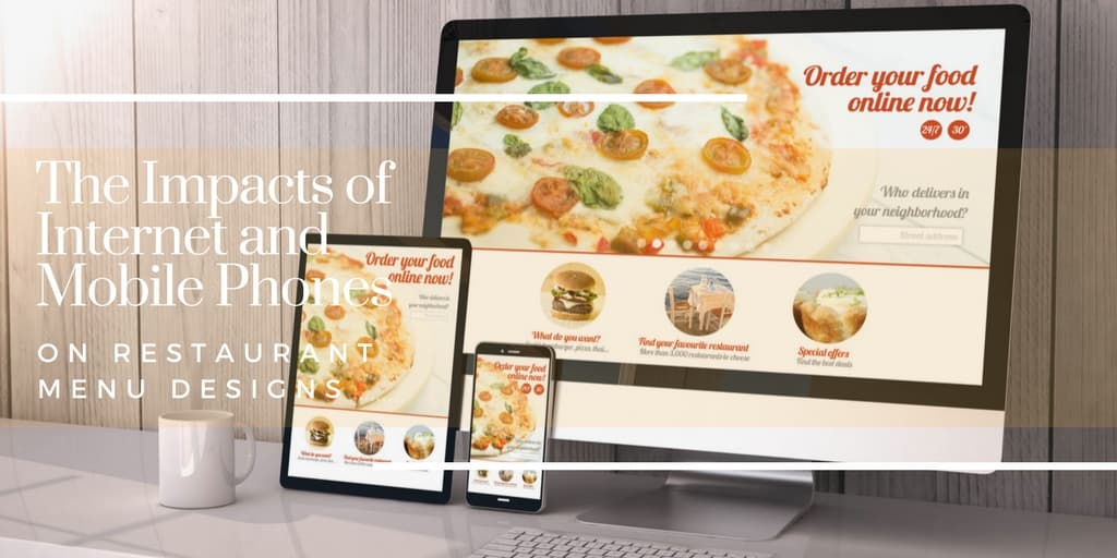 Future Internet and Mobile Influencing of the Restaurant Menu Designs