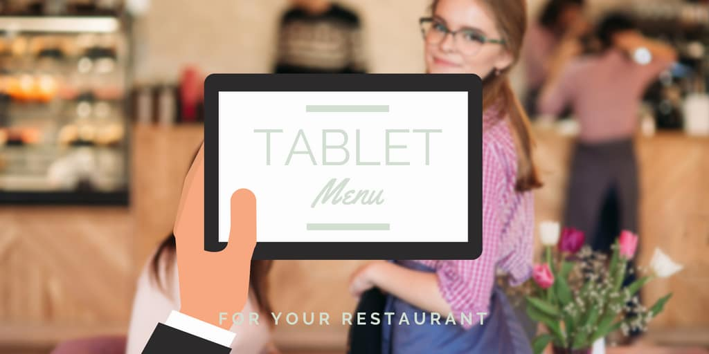 Tablet Menu for Your Restaurant