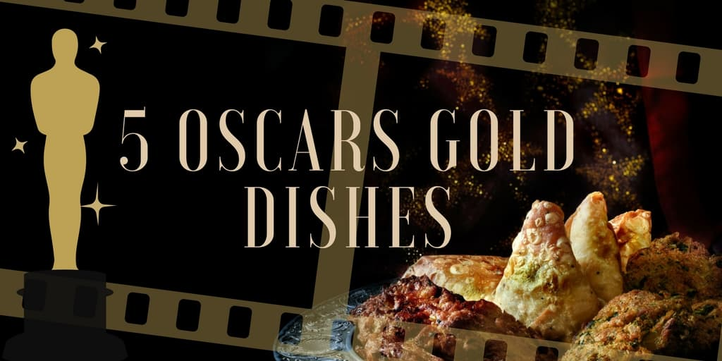 Oscars Gold Dishes