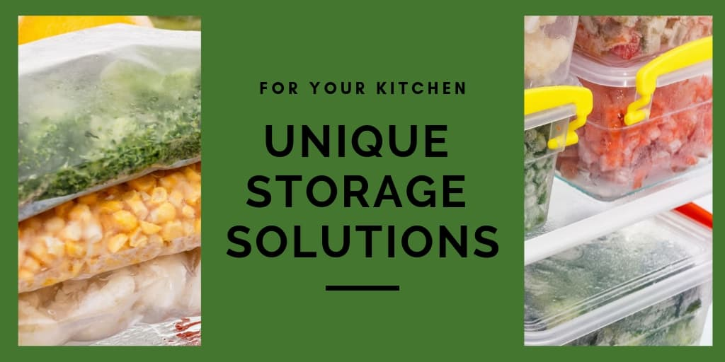 Unique Storage Solutions for Your Kitchen