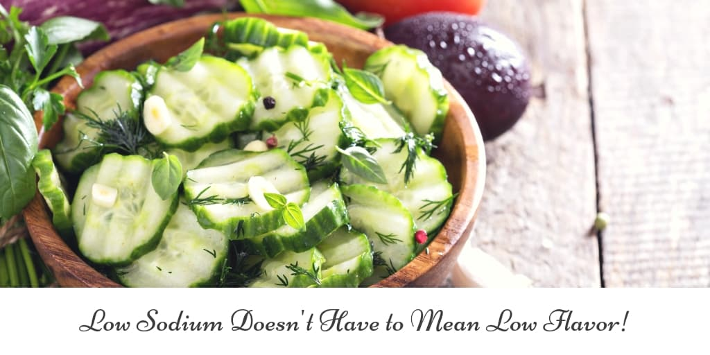Low Sodium Doesn't Have to Mean Low Flavor