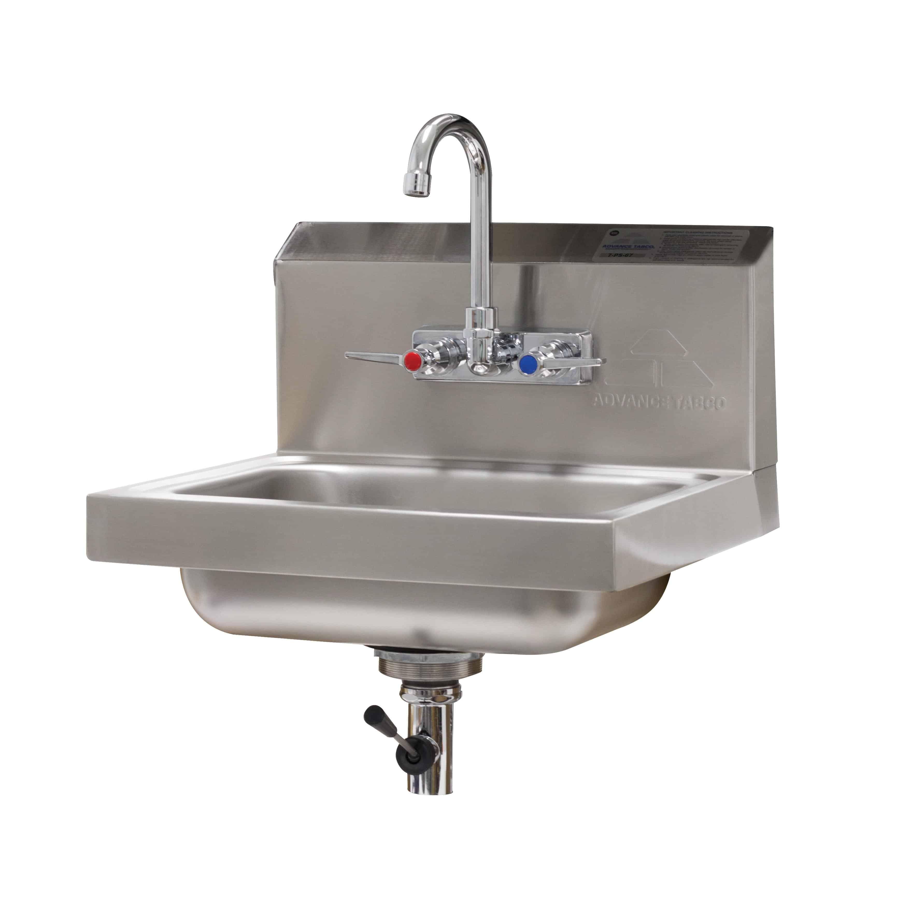Advance Tabco 7-PS-67 Hand Sink | Kitchen Equipment | CKitchen.com