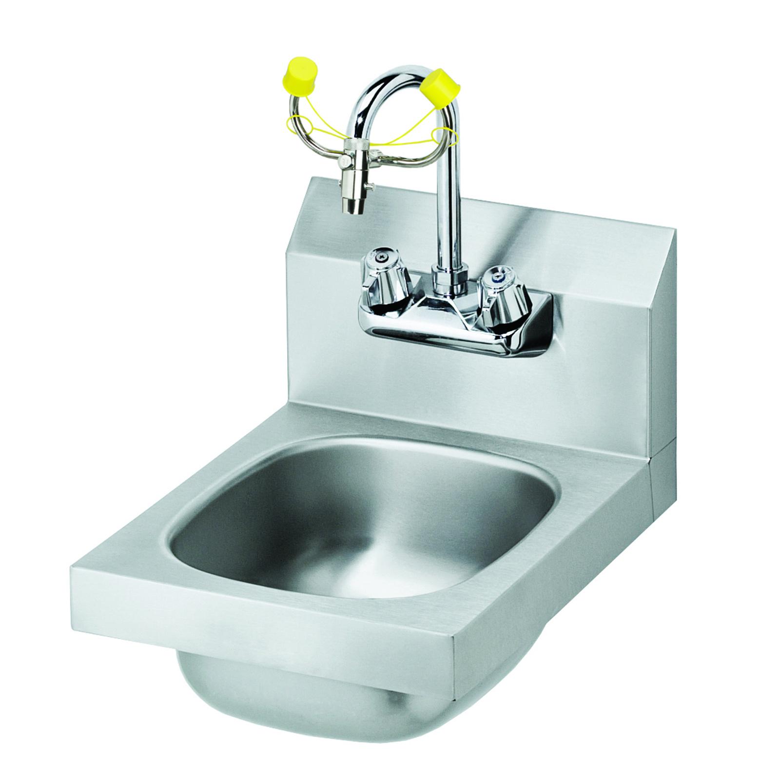 Krowne Metal HS-35 Hand Sink/Eyewash wall mount | CKitchen.com