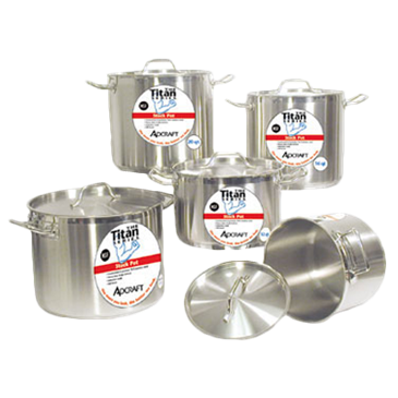 "Admiral Craft Admiral Craft SSP-60 Titan Series"" Induction Stock Pot"