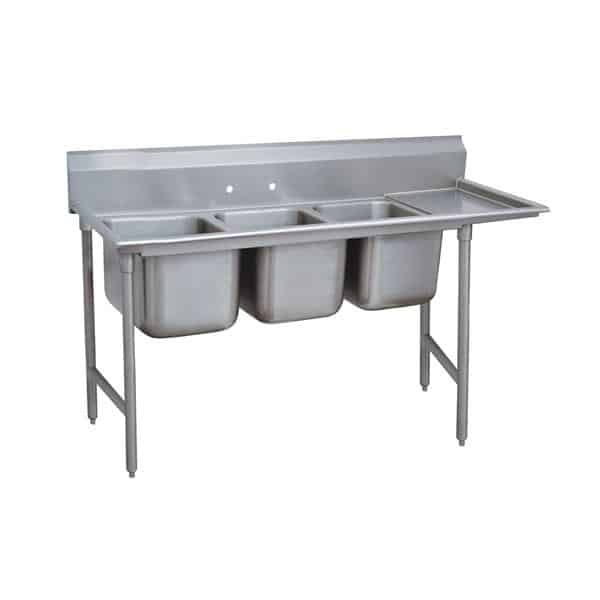 Advance Tabco 9-3-54-36R Regaline Sink
