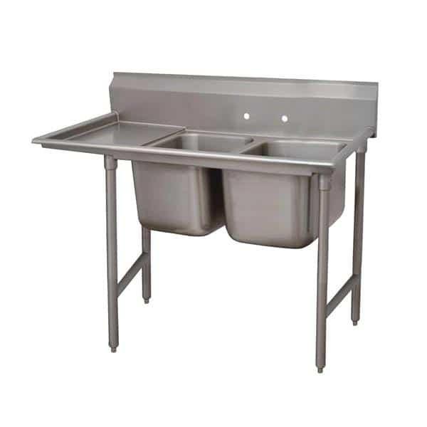 Advance Tabco 93-2-36-36L Regaline Sink