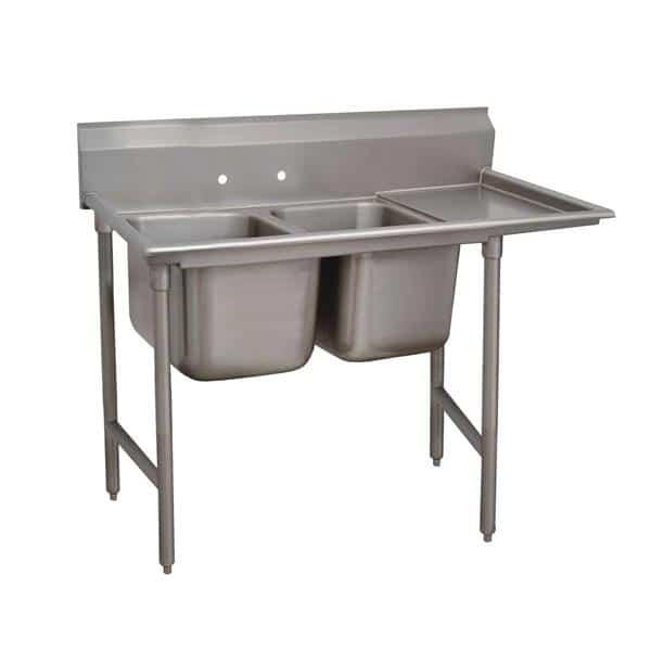Advance Tabco 93-42-48-24R Regaline Sink