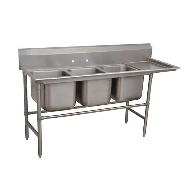 Advance Tabco 94-3-54-18R Regaline Sink