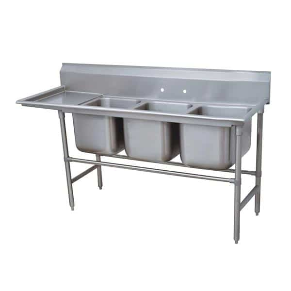 Advance Tabco 94-3-54-24L Regaline Sink