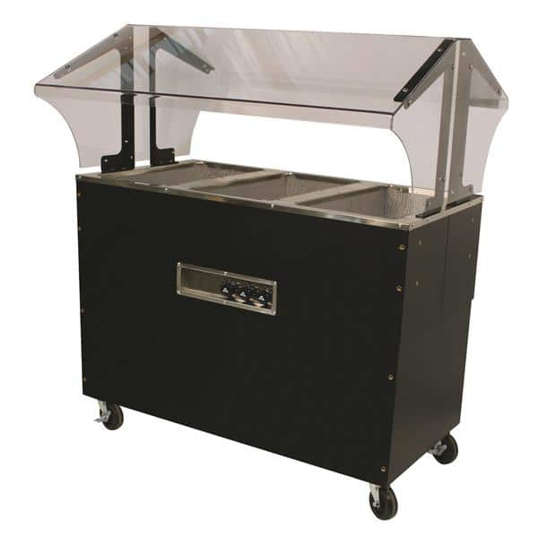 Advance Tabco B3-120-B-SB Portable Hot Food Buffet Table