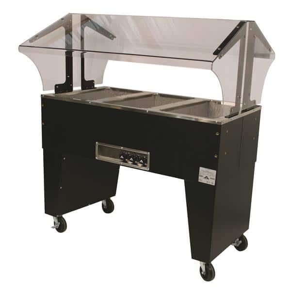 Advance Tabco B3-240-B-S Portable Hot Food Buffet Table