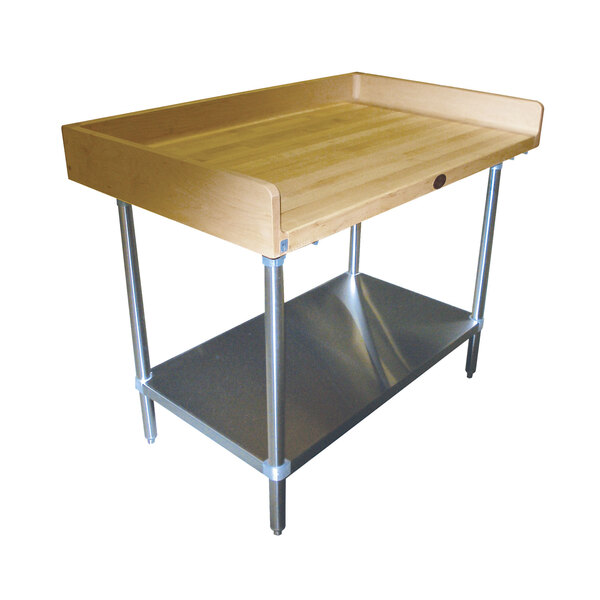 Advance Tabco BS-367 Bakers Top Work Table