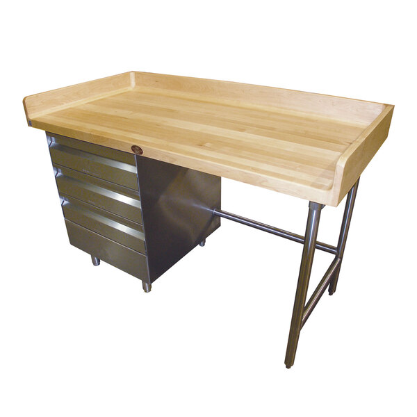 Advance Tabco BST-307L Bakers Top Work Table
