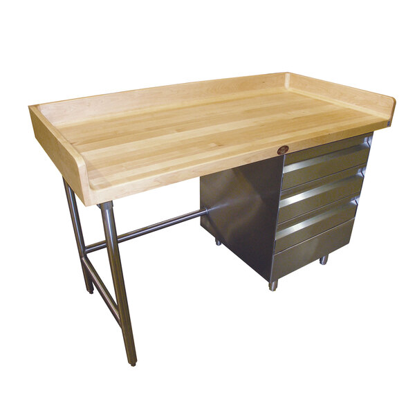 Advance Tabco BST-307R Bakers Top Work Table
