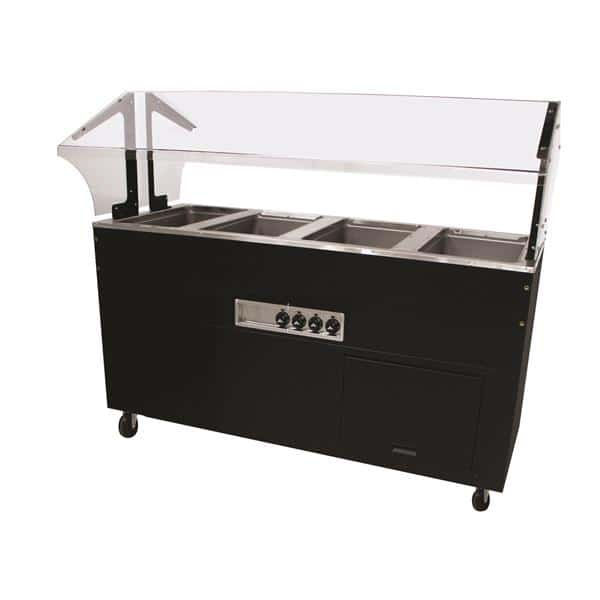 Advance Tabco BSW4-240-B-SB Portable Hot Food Buffet Table