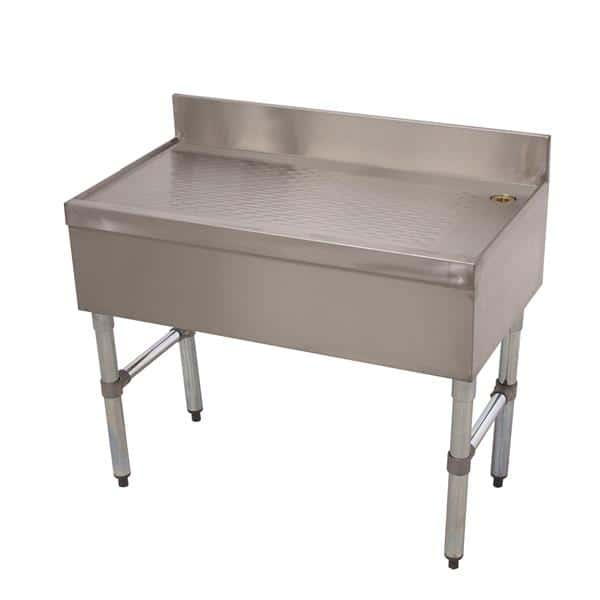 Advance Tabco CRD-4-X Special Value Underbar Drainboard