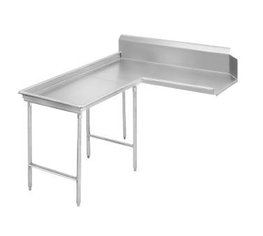 Advance Tabco DTC-G30-120L Island-Clean Dishtable