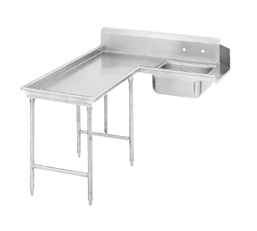 Advance Tabco DTS-G30-108L Island-Soil Dishtable