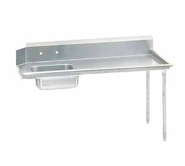Advance Tabco DTS-S60-108R Straight-Soil Dishtable