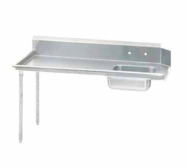 Advance Tabco DTS-S60-60L Straight-Soil Dishtable
