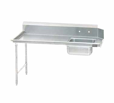 Advance Tabco DTS-S70-108L Straight-Soil Dishtable