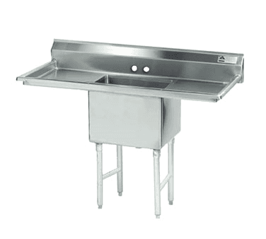 Advance Tabco FC-1-1818-18RL Fabricated NSF Sink