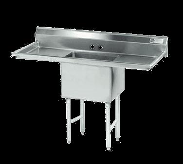 Advance Tabco FC-1-2424-24RL Fabricated NSF Sink