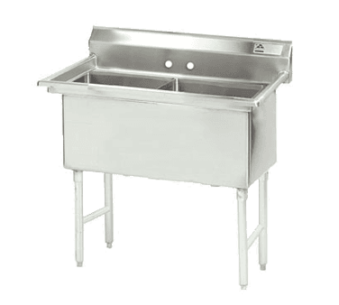 Advance Tabco FC-2-1818-X Fabricated NSF Sink