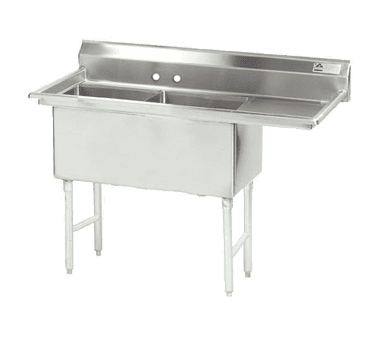 Advance Tabco FC-2-2424-24R-X Fabricated NSF Sink