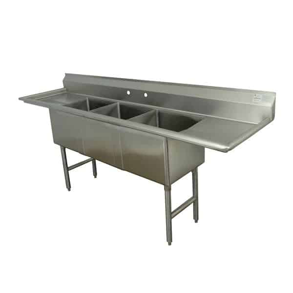 Advance Tabco FC-3-2028-24RL Fabricated Sink