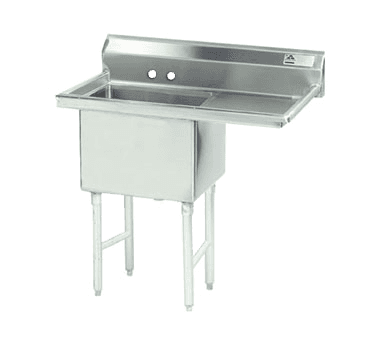 Advance Tabco FS-1-1824-24R Fabricated NSF Sink