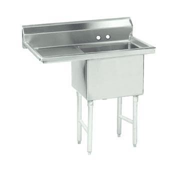 Advance Tabco FC-1-1620-18L-X Fabricated NSF Sink