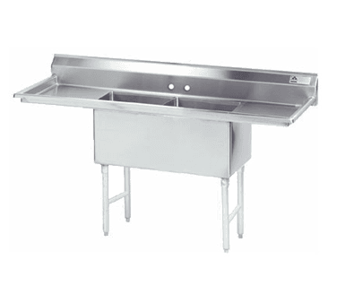 Advance Tabco FS-2-1524-24RL Fabricated NSF Sink