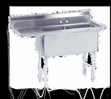 Advance Tabco FC-2-2424-24L-X Fabricated NSF Sink