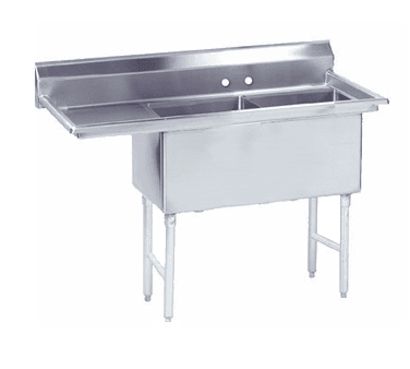Advance Tabco FS-2-2424-18L Fabricated NSF Sink
