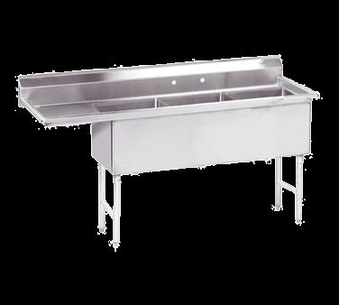 Advance Tabco FS-3-1620-18L Fabricated Sink
