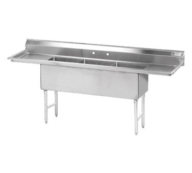 Advance Tabco FS-3-1818-18RL Fabricated NSF Sink