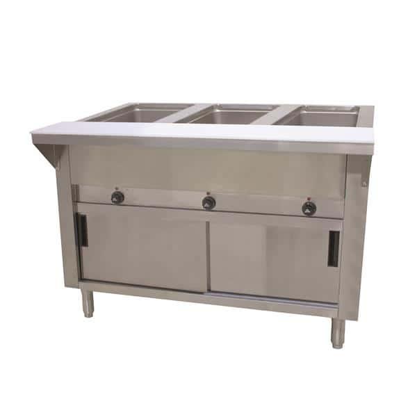 Advance Tabco HF-3E-240-DR Hot Food Table