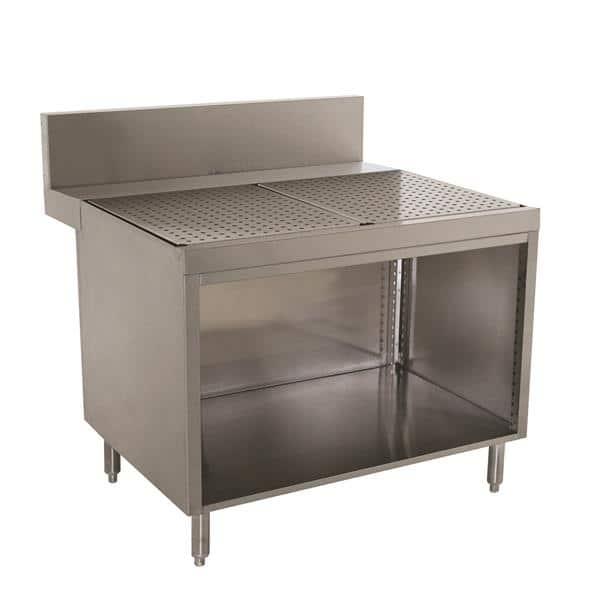Advance Tabco PRSCO-24-48 Prestige Underbar Drainboard Cabinet