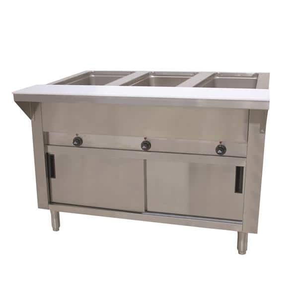 Advance Tabco SW-3E-120-DR Hot Food Table