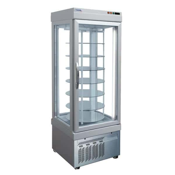 AMPTO 4401 NFN 26.38'' 18.0 cu. ft. 1 Section Silver Glass Door Merchandiser Freezer