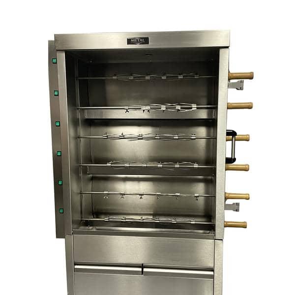 AMPTO FRG6VE Metal Supreme Rotisserie Oven