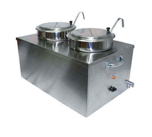 APW Wyott CWM-2SP Food Pan Warmer/Rethermalizer
