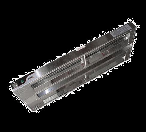 APW Wyott FDD-66L-T Dual Heat Lamp
