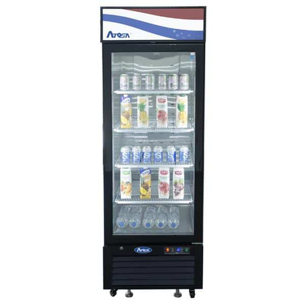 Atosa USA Atosa USA MCF8722GR 27.00'' 1 Section Refrigerated Glass Door Merchandiser
