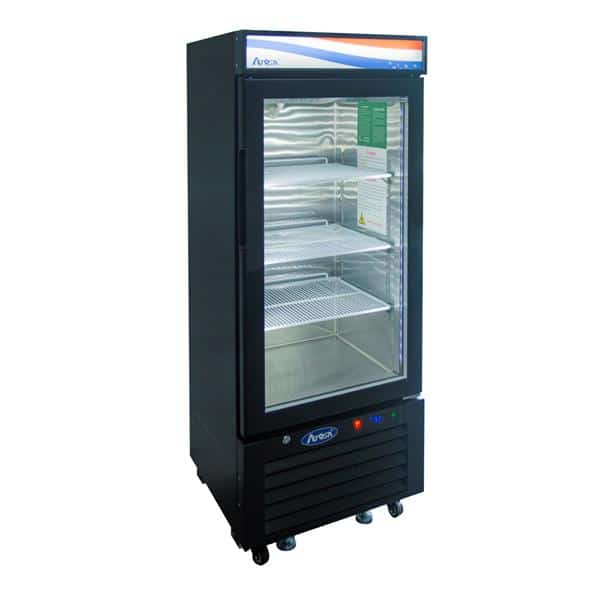 Atosa USA Atosa USA MCF8726GR 24.20'' 1 Section Refrigerated Glass Door Merchandiser