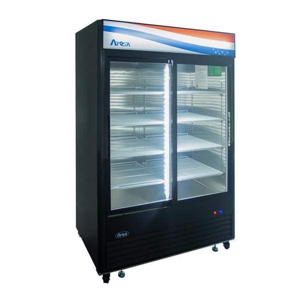 Atosa USA Atosa USA MCF8727GR 54.40'' 2 Section Refrigerated Glass Door Merchandiser