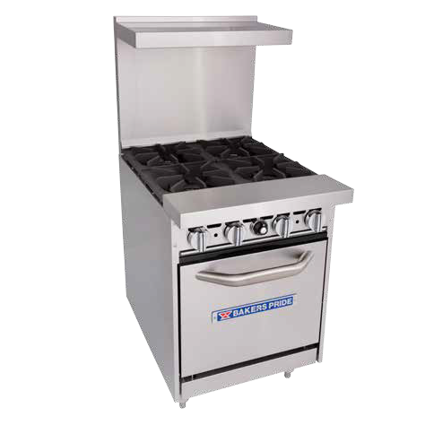 Bakers Pride 24-BP-2B-G12-S20 Restaurant Series Range